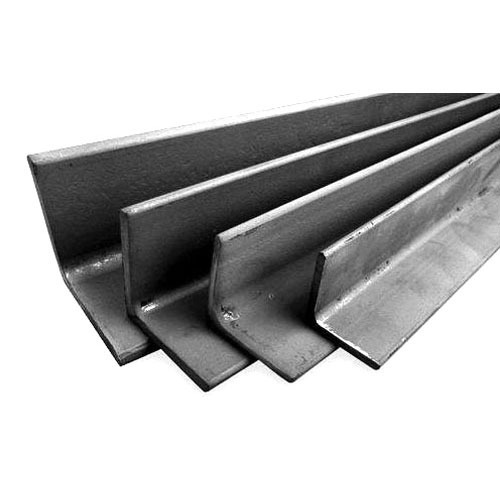 L Shaped Mild Steel Angle Size 80 X 45 Cm Rs 38000 Ton