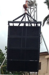 Line Array empty Cabinet