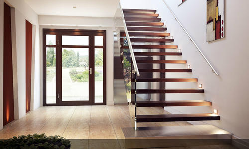 Floating Staircase Floating Stair Design Manufacturer From Chennai