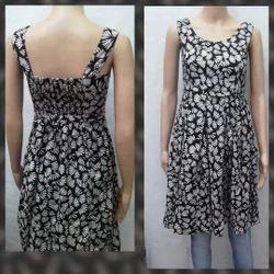 Cotton Half Sleeves One Piece Western Wear Dress