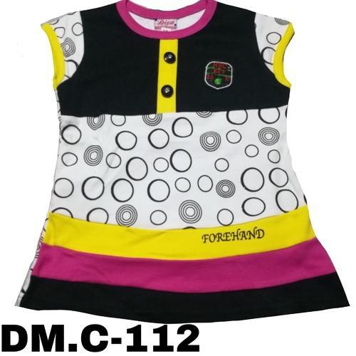 5e9bf148a Blue Berry White And Yellow Baby Girl Round Neck Frock, Rs 240 ...