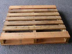 Rectangular Soft Wood Hardwood Pallet, For Shipping, Capacity: 3000Kgs