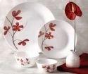 La Opala Diva Ivory Collection Cherry Petal Dinner