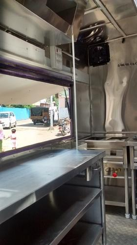 Portable Food Truck Interior Kitchen