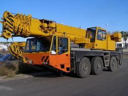 50 Tons Telescopic Crane Rental Services