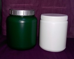 Cylindrical Shape HDPE Jar