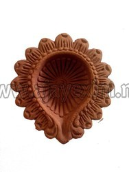 Clay Modern Traditional Designer Diya