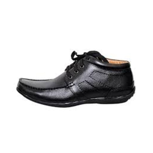 7d35c0c1ef8766 Black Pure Leather Formal Shoes, Size: 6-10, Rs 450 /pair | ID ...