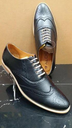 4169780f1b14 Aldo Black Men Formal Shoes, Size: 7-10, Rs 1300 /pair, Trendy ...