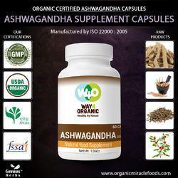 High Quality Ashwagandha Capsules-500mg