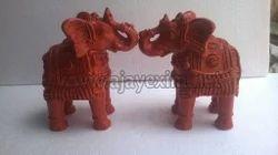 Clay Miniature Elephant Toy