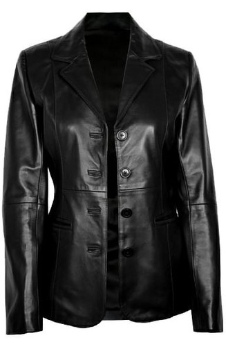 Full Sleeve Plain Ladies Jacket