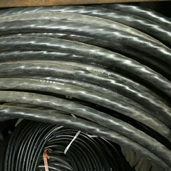 Black Electrical Cables