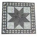 Gray White Stone Mosaic