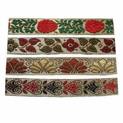 Designer Jacquard Lace At Rs 10 Meter S Jacquard Lace Id 11457204012