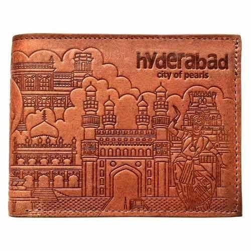 Hyderabad Theme Leather Wallet