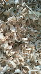 Creamish Wood Shavings