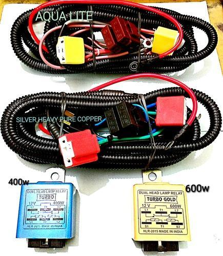 dual head lamp relays & relay wiring for cars & trucks