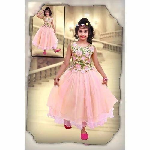 Girls Party Wear Frock Girl Frock Gandhi Nagar Delhi R D