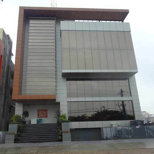 Acp Cladding Details : Acp structural glazing service in delhi old mustafabad by