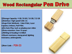 Wood Pen Drive