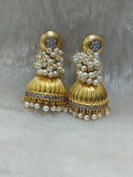 Gold Plating Jhumki