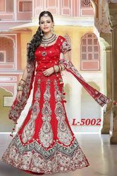 Embroidered Lehengas for Brides