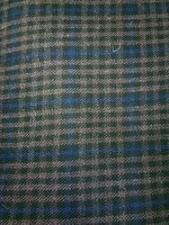Check Polyester Viscose Suiting Fabric, Packaging Type: Plastic Bag, GSM: 250-300 GSM
