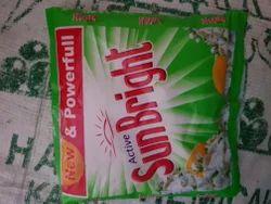Lemon Detergent Powder Sun Bright Green, Packaging Type: Bag