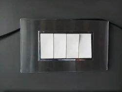 White Grey Switch Board