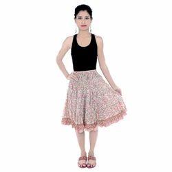 Mini Skirt Photo Shoot