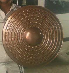 Mild Steel Anrique Shield