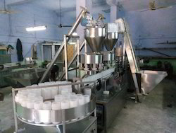 Rotary Powder Filling Machine