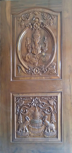 Wooden Carving Doors & Wooden Carving Doors at Rs 650 /square feet | Carved Wood Doors | ID ...