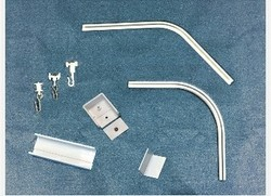 Hospital cubicle track accessories only for VMC track