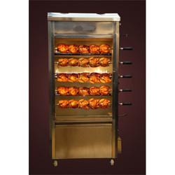 Stainless Steel Chicken Grill Machine