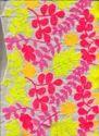 Multi Color Embroidery Design Fabric