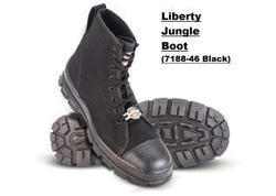 Liberty Warrior Black Jungle Boot 7188-46