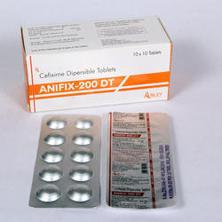 Cefixime 200 DT Tablets