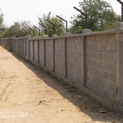 Concrete Compound Wall Rs 100 Square Feet Tirupati