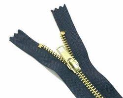 Golden Brass Zipper