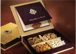 Rectangular Paper Dry Fruit Boxes
