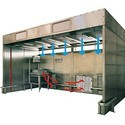 Downflow Paint Booth