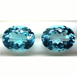 Sky Blue Topaz Gemstone For Earrings