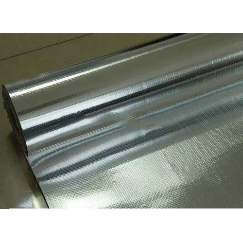 Woven Scrim Laminated Aluminum Foil