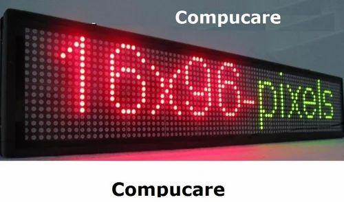 Industrial Dot Matrix Led Display Warranty 1 Year Id