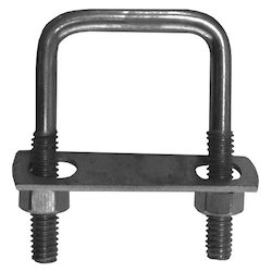 Stainless Steel Square U Bolt, For Construction, Size: 4 - 36 Mm