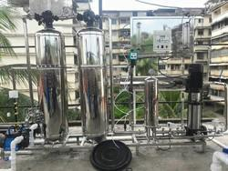 1000LPH Fully Automatic SS RO Plant