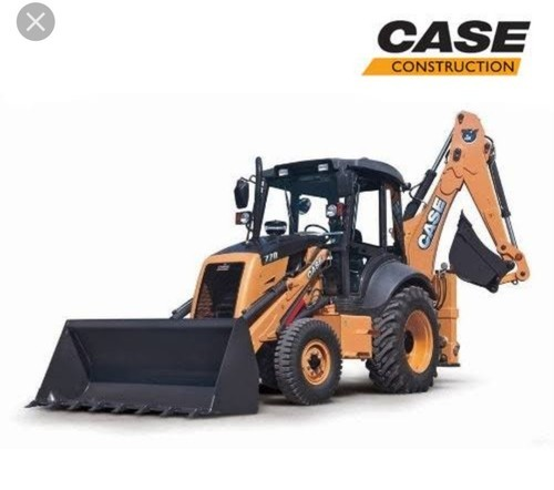 76hp Backhoe Loader Case 770EX, Engine Model: Fiat