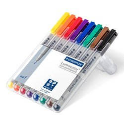 Multi-colored And Staedtler Permanent Pen